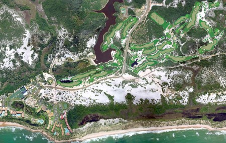 Costa do Sauipe Golf LInks Aerial View