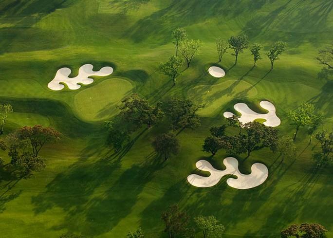 Manila Golf Aerial Holes #3 & #5