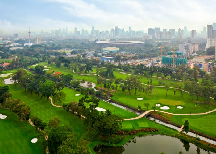 Senayan National Aerial View