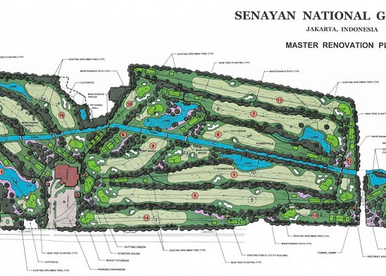 Senayan National Master Renovation Plan